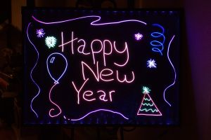 Custom Neon Sign Board Announcing Your Event